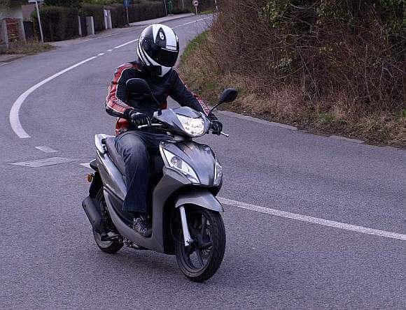 Test: Honda Vision 50