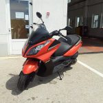 Kymco Downtown  super test 4