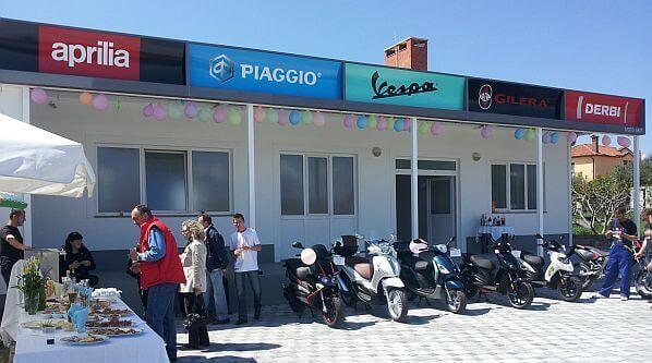 Moto Grip novi Piaggio centar u Rovinju