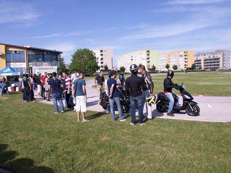 Moto Live Tour Piaggio grupe održan u Zagrebu