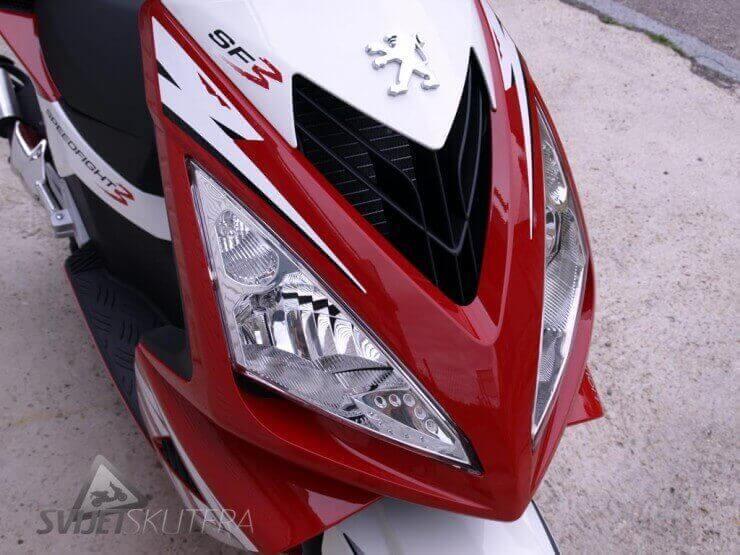 Peugeot Speedfight 3 LC na maraton testu