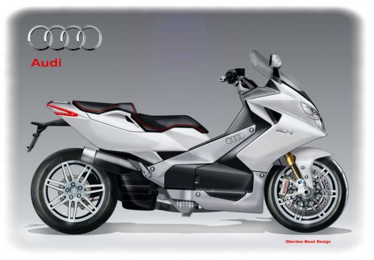 Audi SC-1 Superscooter Concept