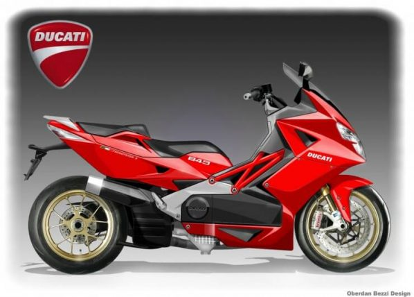 DUCATI 849 SCOOTSTER