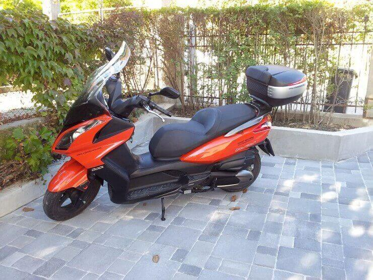 Supertest Kymco Downtown 300i – 10.000 km