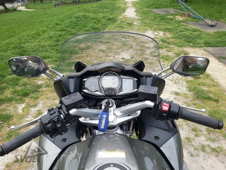 Test Yamaha FJR 1300 ABS 2013.