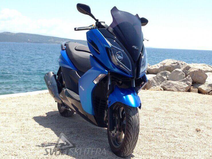 Cjenik skutera i motocikala za 2013.