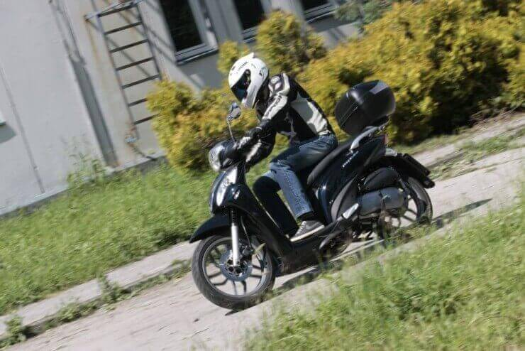 Test Kymco People One 125i