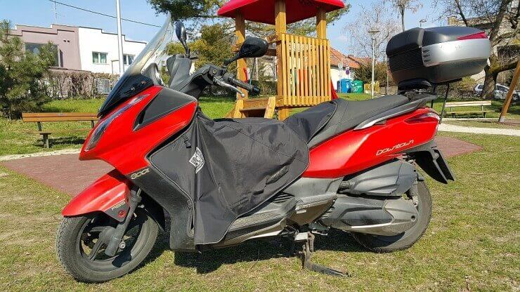 Supertest Kymco Downtown 300i ABS – 13.000 km