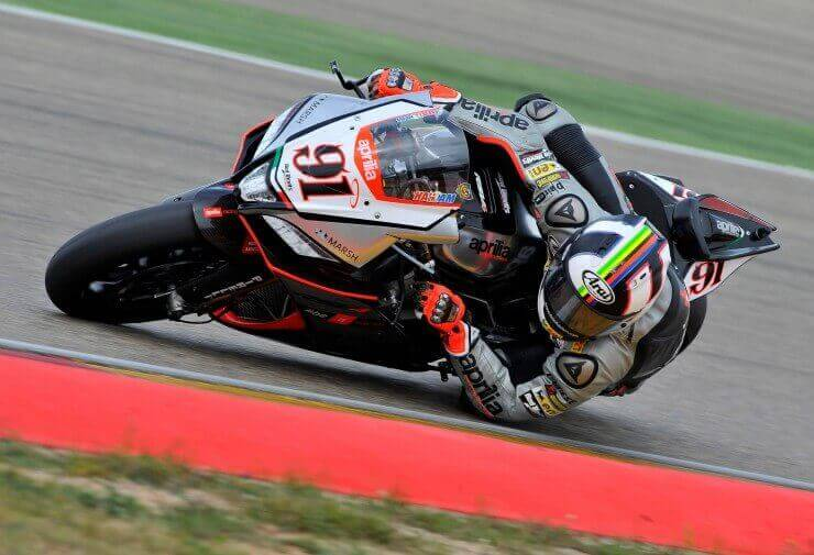 SBK Aragon 2015: Aprilia Racing – Red Devils tim