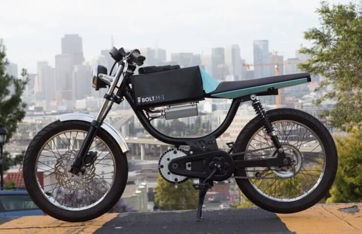 Bolt M-1 električni motocikl
